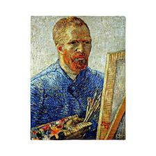 Van Gogh - Self-Portrait as an Artist Twin Duvet