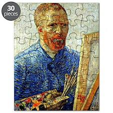 Van Gogh - Self-Portrait as an Artist Puzzle