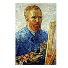 Van Gogh - Self-Portrait  Postcards (Package of 8)