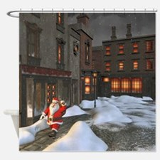Santa is coming 4 Shower Curtain
