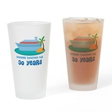 30th Anniversary Cruise Drinking Glass
