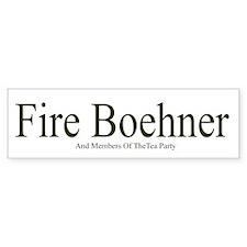 Fire Boehner Bumper Bumper Sticker