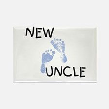 New Uncle (blue) Rectangle Magnet