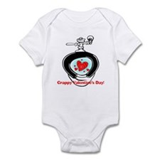 Crappy Valentine's Day Infant Bodysuit