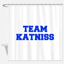 TEAM-KATNISS-fresh-blue Shower Curtain