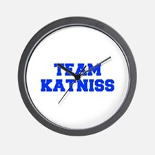 TEAM-KATNISS-fresh-blue Wall Clock