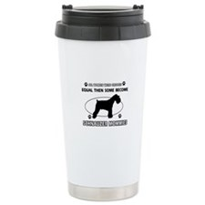 Become Schnauzer mommy designs Travel Mug