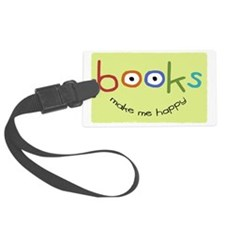 bookshappytote Luggage Tag