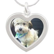 Freshly Groomed Silver Heart Necklace