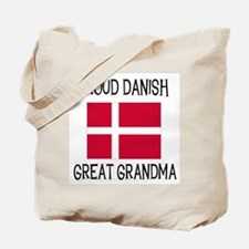 Proud Danish Great Grandma Tote Bag