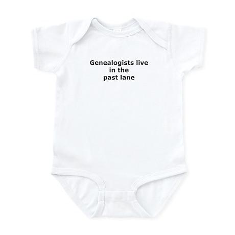 Past Lane Infant Bodysuit