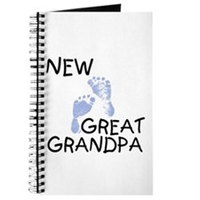 New Great Grandpa (blue) Journal