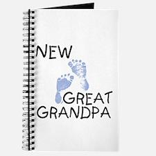 New Great Grandpa (blue) Journal