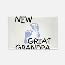 New Great Grandpa (blue) Rectangle Magnet