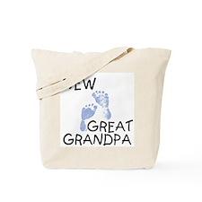 New Great Grandpa (blue) Tote Bag