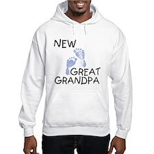 New Great Grandpa (blue) Hoodie