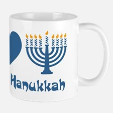 Peace Love Hanukkah Mug