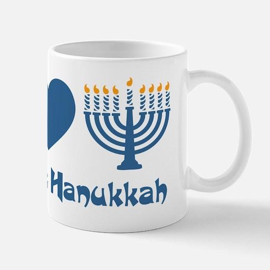 Peace Love Hanukkah Mug