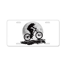 Howl at the Moon Aluminum License Plate