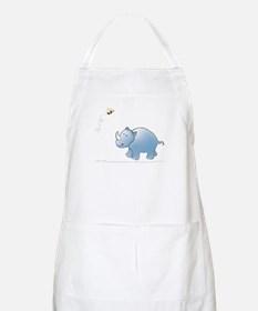 Rhino and Bee BBQ Apron