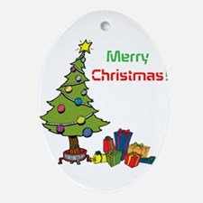 Christmas Ornament (Oval)