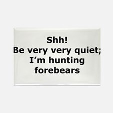 Hunting Forebears Rectangle Magnet (100 pack)