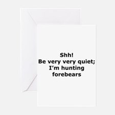 Hunting Forebears Greeting Cards (Pk of 10)