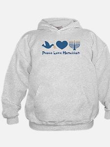 Peace Love Hanukkah Hoodie