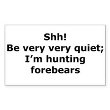 Hunting Forebears Rectangle Bumper Stickers