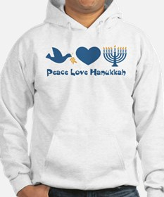 Peace Love Hanukkah Jumper Hoody