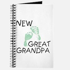 New Great Grandpa (green) Journal