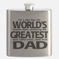 World's Greatest Dad Flask