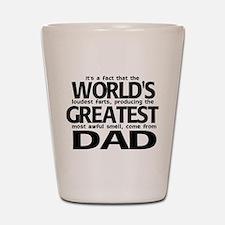 World's Greatest Dad Shot Glass