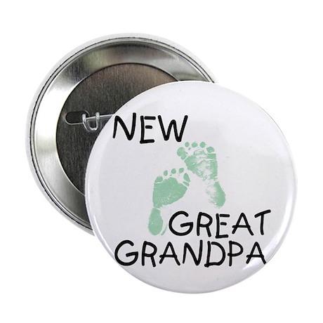 New Great Grandpa (green) Button
