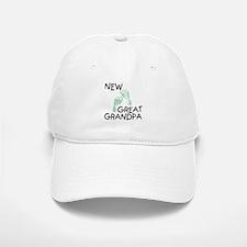 New Great Grandpa (green) Baseball Baseball Cap