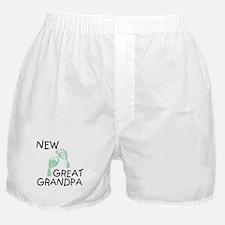 New Great Grandpa (green) Boxer Shorts