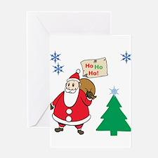 Ho Ho Ho Greeting Cards
