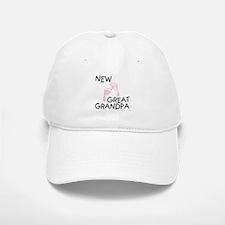 New Great Grandpa (pink) Baseball Baseball Cap