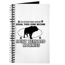 Become Saint bernard mommy designs Journal