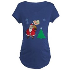 Ho Ho Ho Maternity T-Shirt