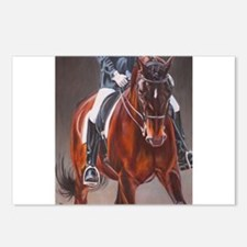 Dressage Intensity Postcards (Package of 8)