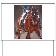 Dressage Intensity Yard Sign