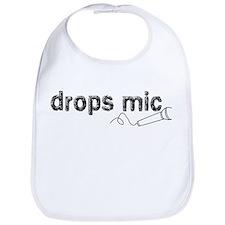 Drops Mic Comedy Bib