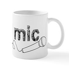 Drops Mic Comedy Mug