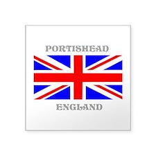 "Portishead England Square Sticker 3"" x 3"""