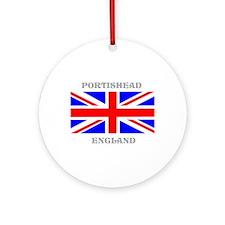 Portishead England Ornament (Round)
