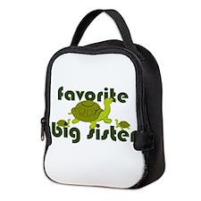 Favorite Big Sister Neoprene Lunch Bag