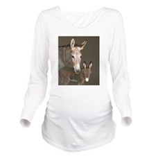 inthebarnfav.jpg Long Sleeve Maternity T-Shirt