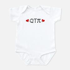 Q-T-Pi (Hearts) Infant Bodysuit