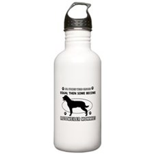 Become Rottweiler mommy designs Water Bottle